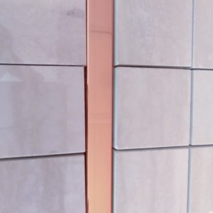 LISTEL LUMINA CROMO PINK GOLD 1,5X75